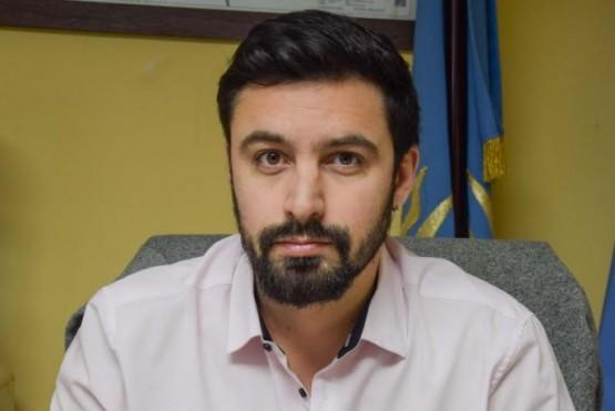 Leandro Fadul, nuevo secretario de Comercio de la provincia.