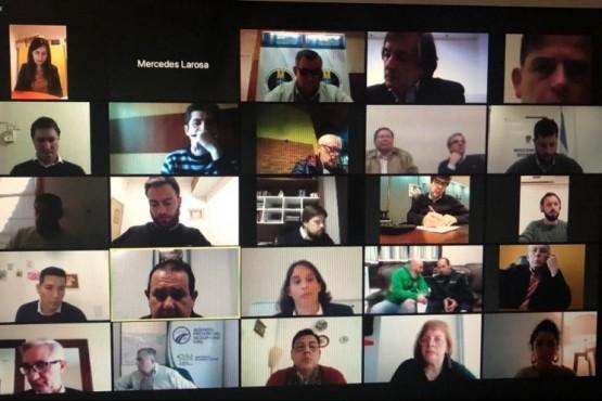 Se realizó la segunda reunión virtual sobre seguridad vial.
