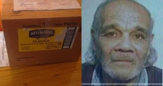 Le enviaron una caja con los restos de su abuelo desaparecido