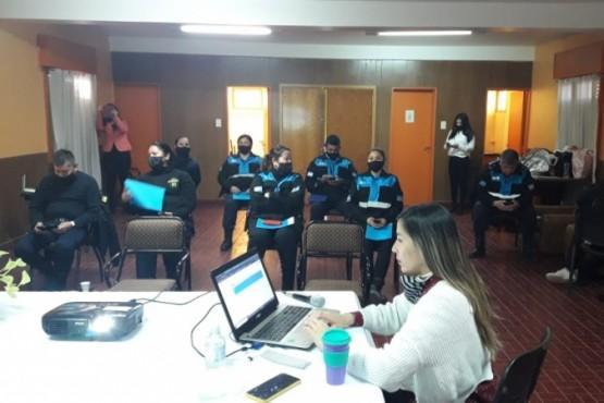 Se desarrolló el Taller Introducción a Ley Micaela y Herramientas en violencia de género para la Policía Comunitaria