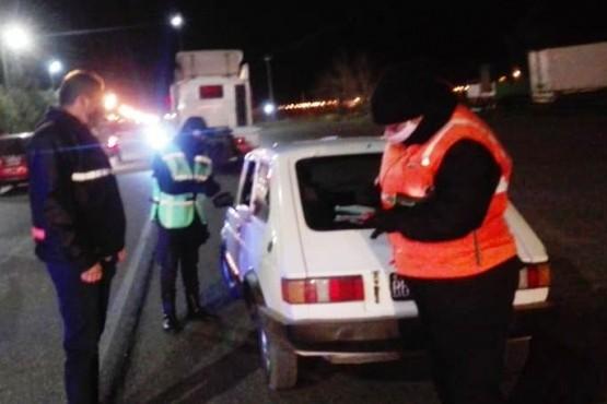 El municipio, en conjunto con otros organismos, reforzó los controles vehiculares en Playa Unión