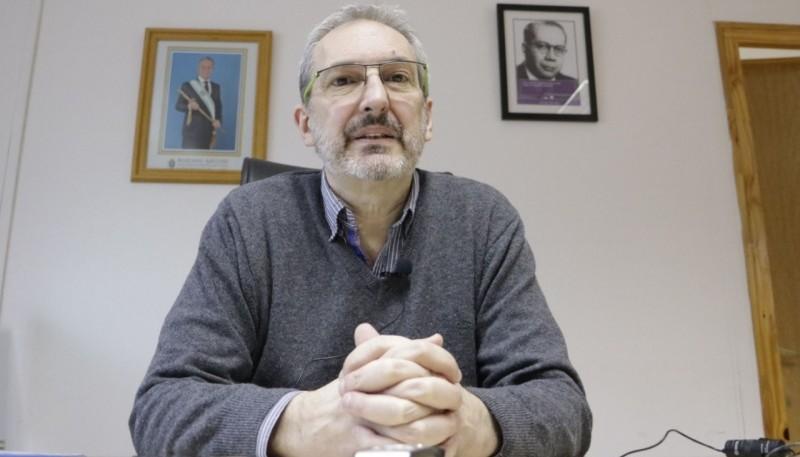 El titular de la cartera sanitaria provincial, Fabián Puratich.