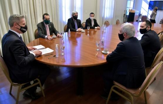 Arcioni enviará proyecto de Ley para garantizar la regularización del pago de sueldos