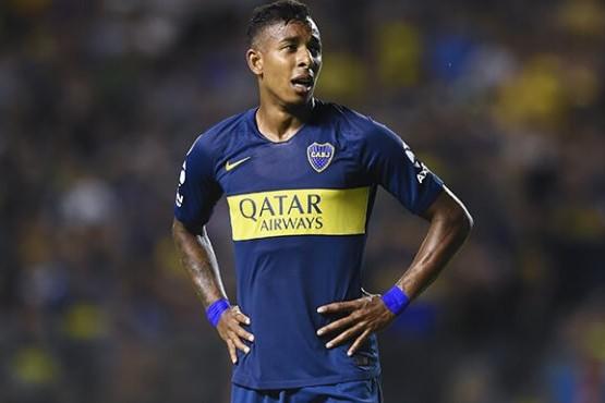 Sebastián Villa no quiere jugar más en Boca