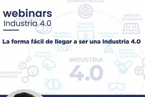 Invitan a un nuevo webinar sobre Industrias 4.0