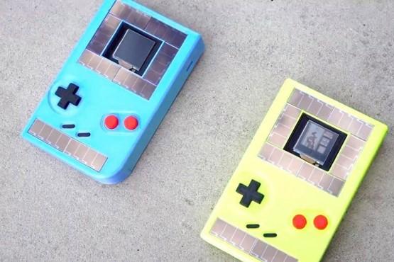 Crean una Game Boy que funciona de manera ilimitada