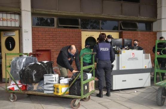La Terminal de Ómnibus puso en funcionamiento el escáner valijero