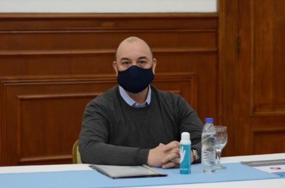 El Secretario de Planificación Estratégica, Mario Rodríguez