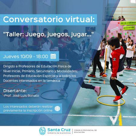 """Invitan a participar del """"Conversatorio sobre Educación Física"""""""