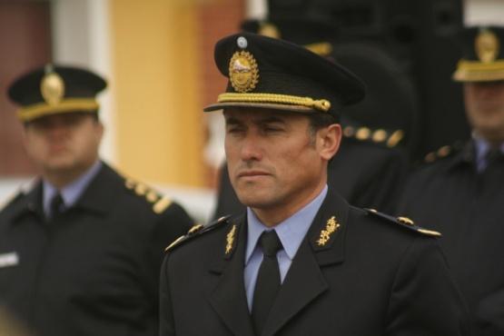 Comisario General Luis Águila.