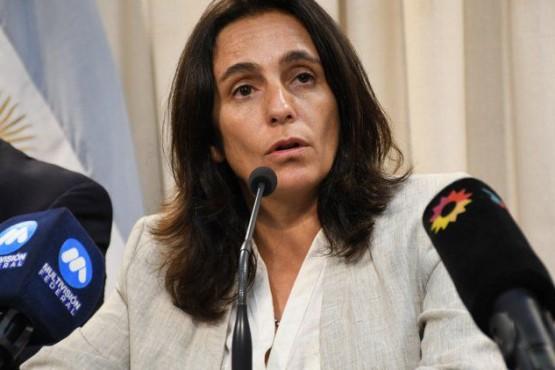 La ministra de Salud de Salta, Josefina Medrano.