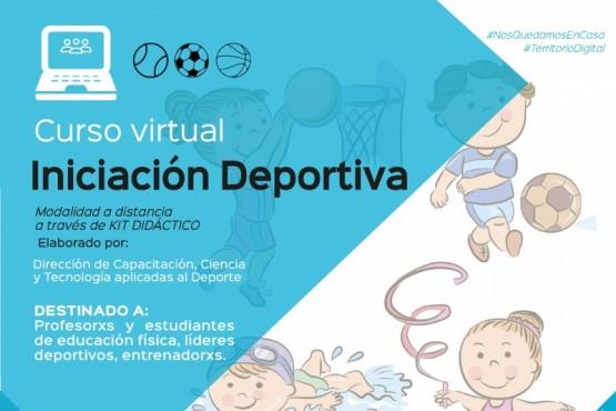 Invitan a participar del Curso de Iniciación Deportiva