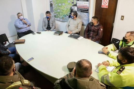 Seguridad Vial: Provincia intensifica los controles en el ingreso a Rawson