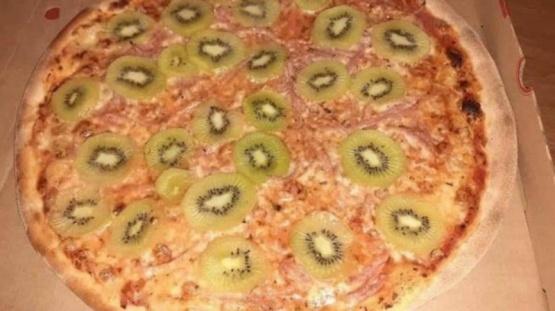 ¿Harías lo mismo? Inventó la pizza de kiwi y su mujer lo dejó