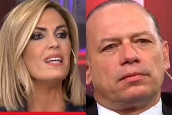 ¿Sergio Berni y Viviana Canosa juntos?