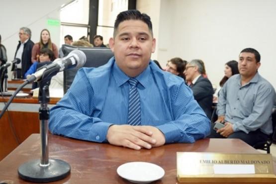 Maldonado renunció a su banca el 29 de junio.