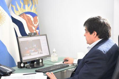 Santa Cruz participó de una nueva reunión del COFESA
