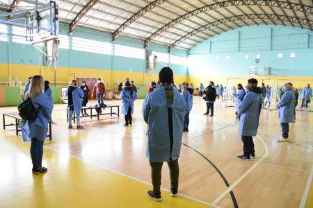 Amplio trabajo en barrios de Río Gallegos para concientizar sobre Coronavirus