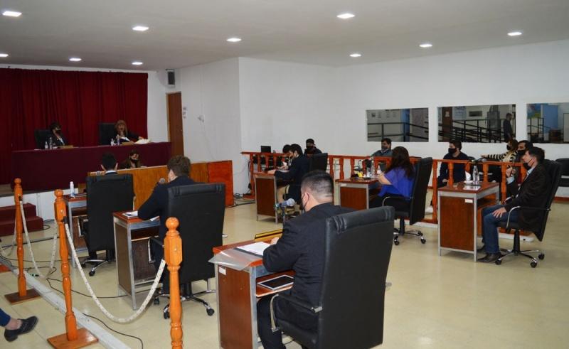 Sesión en el HCD.