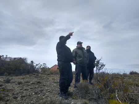 Realizan tareas preventivas y de control en relación a áreas protegidas