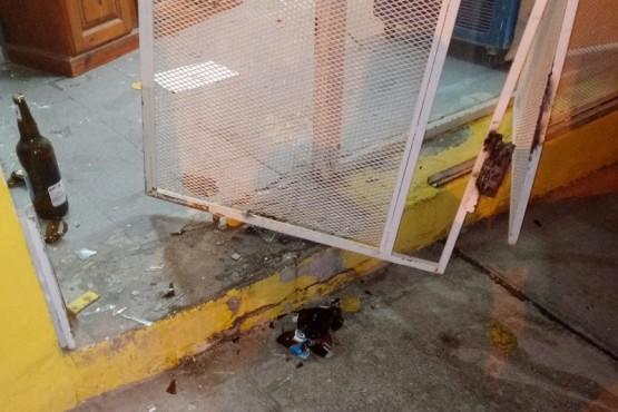 Cuatro detenidos por robo de cervezas y un microondas