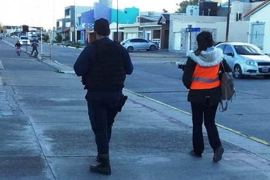 Rawson reforzó los controles con agentes municipales