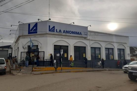 La Anónima permanecerá cerrada por una semana