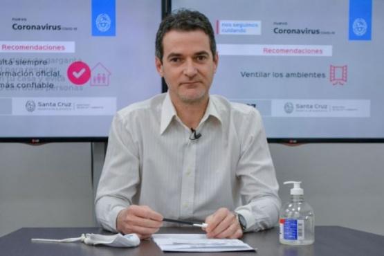 Ignacio Suárez Moré, Secretario de Estado de Salud Pública.