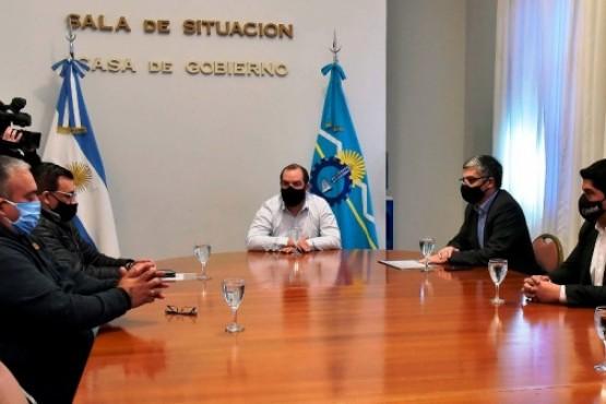 Autoridades provinciales recibieron a representantes de la UOCRA