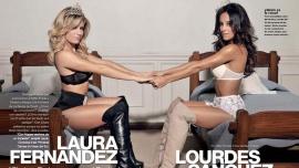 Continúa la interna entre Laurita Fernández y Lourdes Sánchez