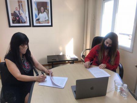 Gobierno firmó convenio con la Municipalidad de 28 para la extensión de redes