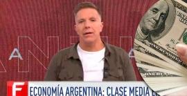 Alejandro Fantino fue contra la nueva devaluación del peso