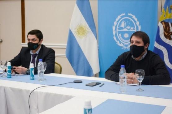 Ministros de Seguridad y de Gobierno.