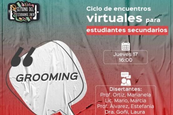 Grooming, ESI, filosofía y vocación en la semana del Estudiante