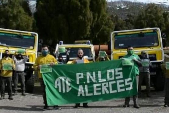 Trabajadores del Parque Nacional Los Alerces reclaman recomposición salarial