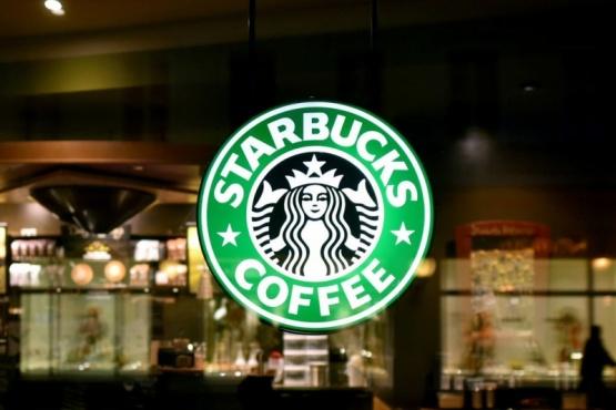 Starbucks coffe.