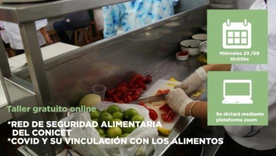 Se realizará charla sobre seguridad alimentaria