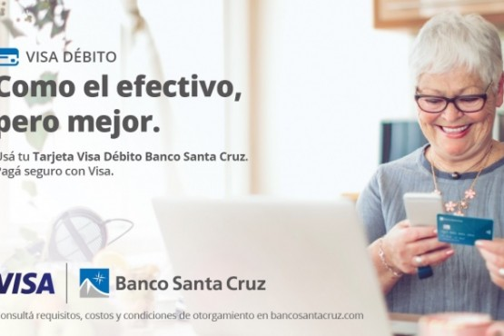 Banco Santa Cruz y Visa promueven el uso de la tarjeta de débito con beneficios