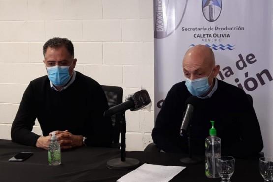 Eugenio Quiroga y Fernando Cotillo.