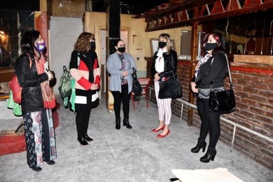 Concejalas del Partido por Trelew visitaron el Centro Integral de la Mujer