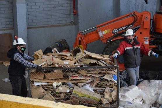 Planta de Reciclaje: nuevo envió de material recuperado