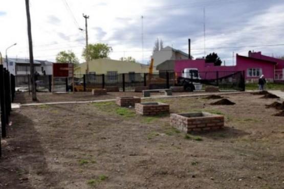 Plaza ubicada en el corazón del barrio.