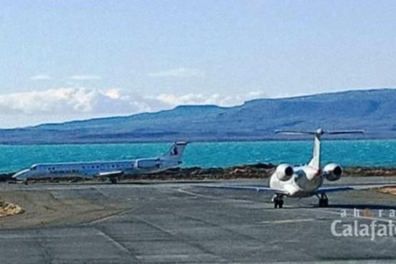 Aterrizaron otros 4 aviones en El Calafate