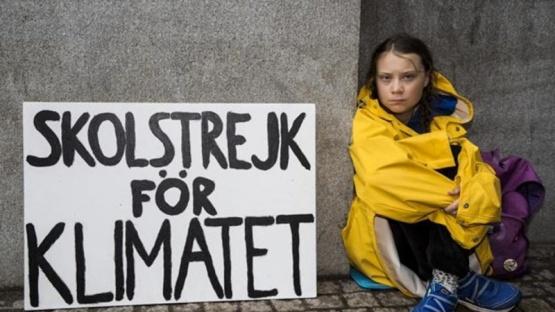 Greta Thunberg lidera una nueva huelga climática global