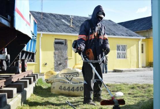 Continuaron trabajos en el marco de las diez acciones del Municipio