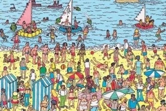 """""""¿Podés ver las tazas que se esconden en la playa?"""", el reto viral para completar en 30 segundos"""