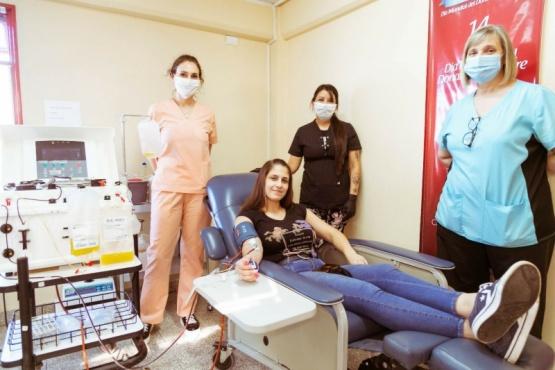 Porcentajes que animan: 45% de los pacientes que recibieron plasma lograron el alta médica