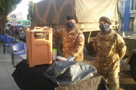 Destacan la tarea operativa del Ejército Argentino en la pandemia