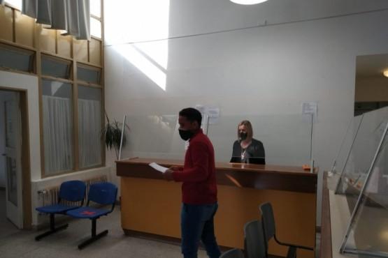 La Delegación del Registro Civil Zona Centro atiende al público con turnos previos, horario y personal reducido