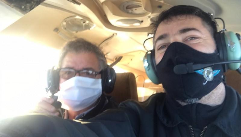 El Aeroclub completó de manera exitosa vuelo humanitario
